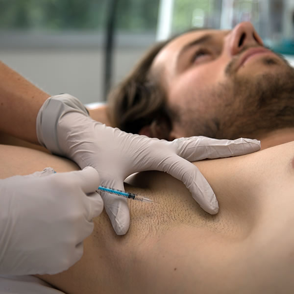Dysport treatment at Laser Aesthetics Vascular Therapists