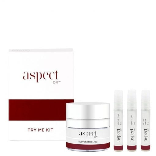 Try Me Kit Aspect Dr With Products 800px Laser Aesthetics