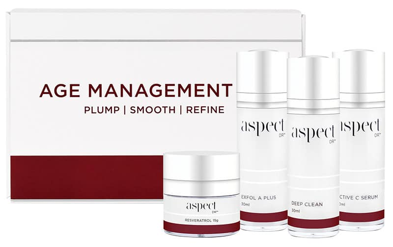 Age Management Kit Aspect Dr With Products Cropped Laser Aesthetics